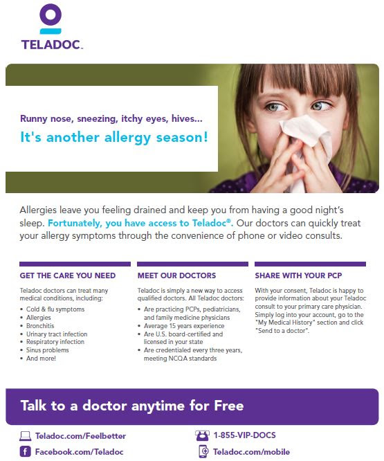 Memphis Benefits's Teladoc The Best for Less